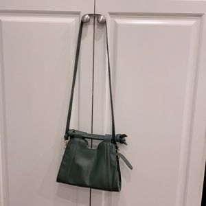 Never used Green Anthropologie purse